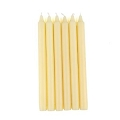 10inch  Ivory Taper Candles (144pcs/cs)