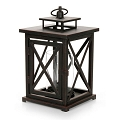 12.5 Inch Square Lantern Candleholder (4pc)