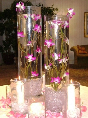 5 5 X 15 5 Clear Glass Cylinder Vase 6pcs