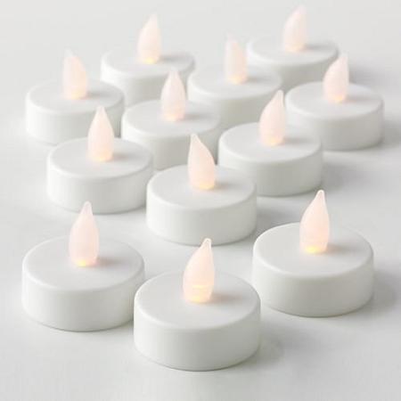cheap flameless led tea lights bulk 12pcs led candle. Black Bedroom Furniture Sets. Home Design Ideas