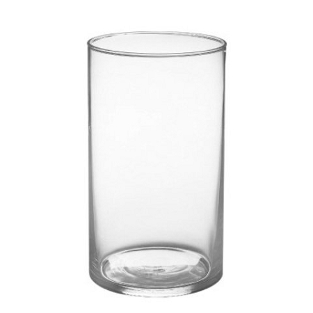4 X 6 Clear Glass Cylinder Vase 12 Pcs