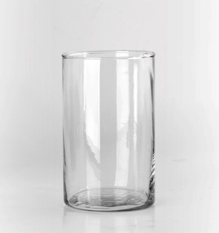 Clear Glass Cylinder Vases