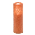 3X9 Brown LED Candle - Primitive Style (4PCS)