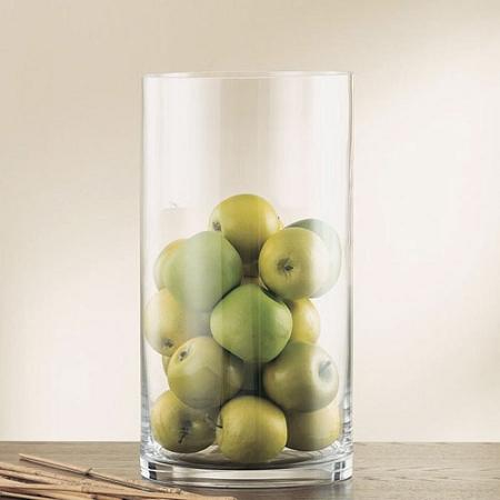 10inch Vase Cheap Cylinder Glass Vase Bulk Wholesale Vases