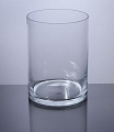 7 Inch Clear Cylinder Glass (6pcs)