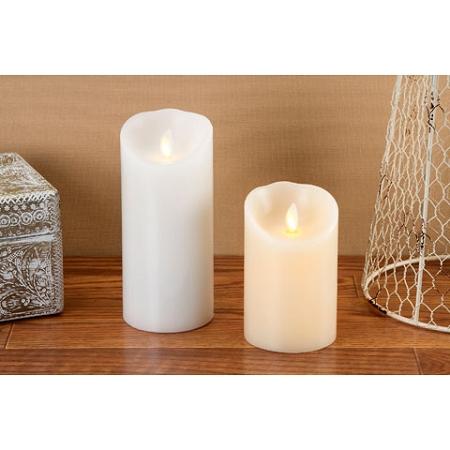 6inch Ivory Luminara Flameless Candle