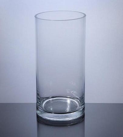 7 X 18 Clear Cylinder Vase 4pcs