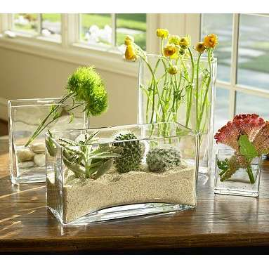 Rectangular Glass Vases For Centerpieces Vase And Cellar Image