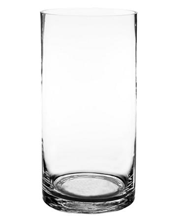 4 X 12 Clear Cylinder Vase 12pcs
