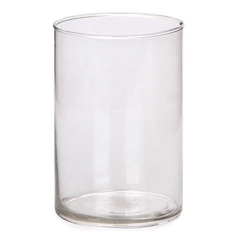 4inch Clear Cylinder Vase