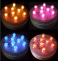Submersible 9 LED RGB, Color Changing Light, SUPER Bright (Pack of 3)