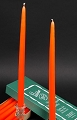 Orange Taper Candle (72pcs)
