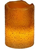3X4 Dark Ivory/Cinnamon LED Candle - (4PCS)