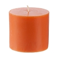Orange-Scented Mini Pillar Candle (24pcs)