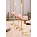 David Tutera™ Candlestick Holders - Gold -(3pcs)