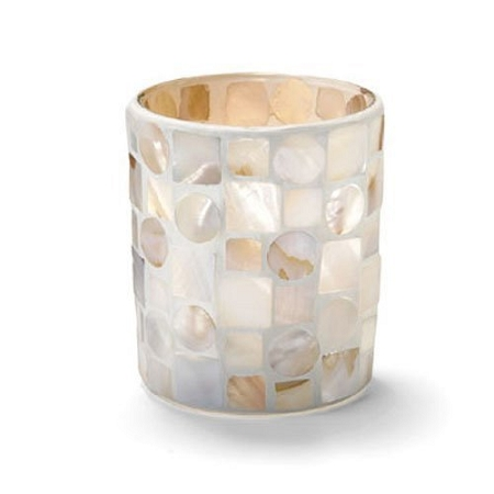 Mother Of Pearl Candle Holder
