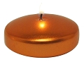 Metallic Copper Floating candle (24pcs)