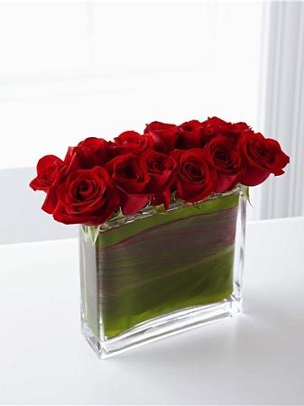 12 X 12 X 4 Rectangular Glass Vase 4pcs