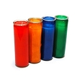 13oz Colored Glass Candle (12pcs)