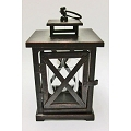 8.5 Inch Square Lantern Candleholder (6pc)