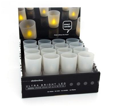 bulk smart candle. Black Bedroom Furniture Sets. Home Design Ideas