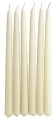 15inch  Ivory Taper Candles (144pcs/cs)