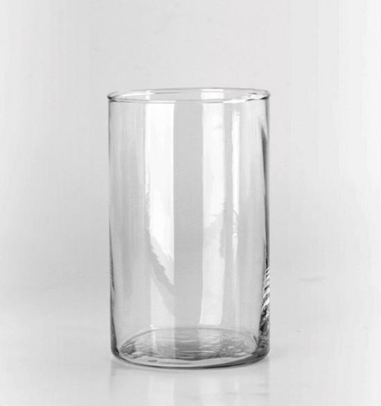 4inch Clear Cylinder Vase
