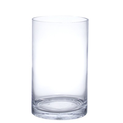 8inch Vase 5 X 8 Clear Glass Vase Discounted Price Vase