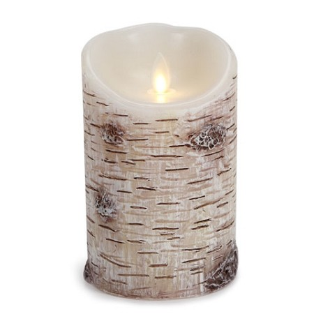 Birch Luminara Real Flame Flame Effect Candle