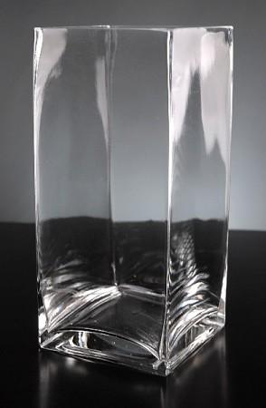 4 X 4 X 6 Square Glass Vase 12pcs