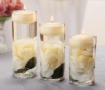"4"" X 6"" CLEAR GLASS CYLINDER VASE  (12 Pcs)"