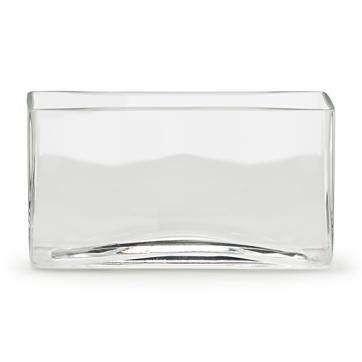 8 X 8 X 4 Rectangular Glass Vase 4pcs