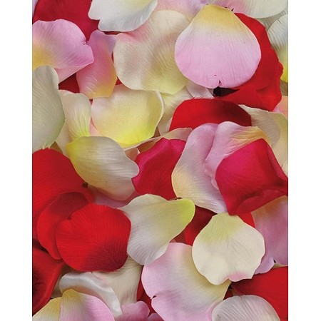 Mixed silk flower petals 100pcsbag mightylinksfo